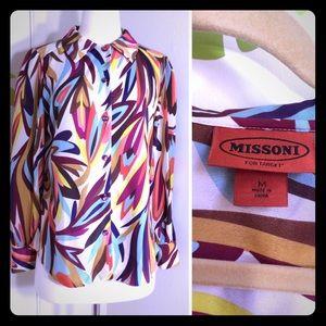 Missoni Tops - Missoni For Target Button Down Blouse Size Medium