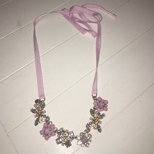 Jewelry - Pink ribbon necklace