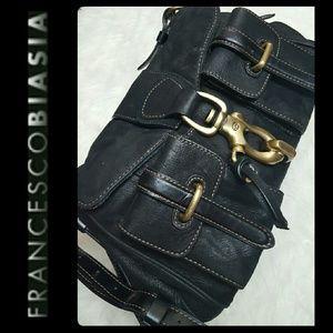 Francesco Biasia Handbags - Francesco Biasia Italy Leather Satchel Purse