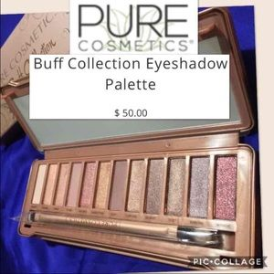 NEW Pure Cosmetics Buff Collection Shadow Palette