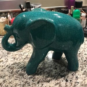 Glass Elephant From Target Home Decor