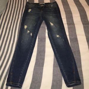 Vici Collection Jeans - Vici Collection Split Ankle Denim