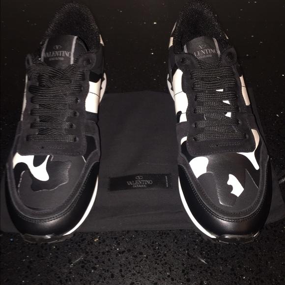 7d4f07e5c08a2 Valentino Shoes | Rockrunner Camo Sneaker | Poshmark