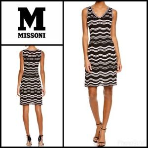 M by Missoni Dresses & Skirts - Stars & Stripes Knit Size 40 Dress