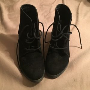 Madden Girl Shoes - Black booties