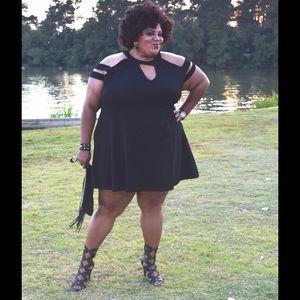 Pink Clove Dresses & Skirts - Pink Clove Black Swing Dress