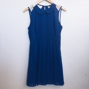 Cute navy and white sailor dress