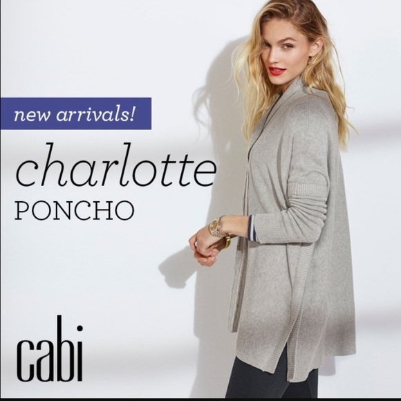 CAbi - 🚨SOLD🚨 cabi #3303 Charlotte Poncho, Medium, NWT from ...