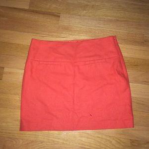 Orange Red Gap Skirt