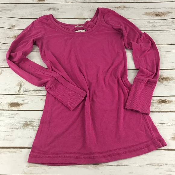 Poof Excellence Tops - PINK Long Sleeve Top