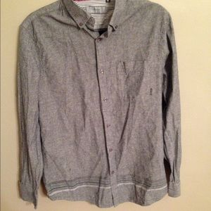 Five Four Other - Trendy Five Four Buttondown Shirt w Stripe Detail