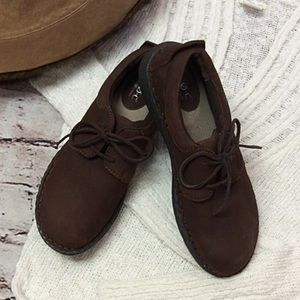 b.o.c. Shoes - B.O.C. FOR BORN CASUAL BROWN LEATHER SHOES