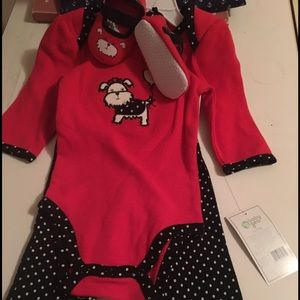 Baby Gear Other - Red and black and polka dots ❤