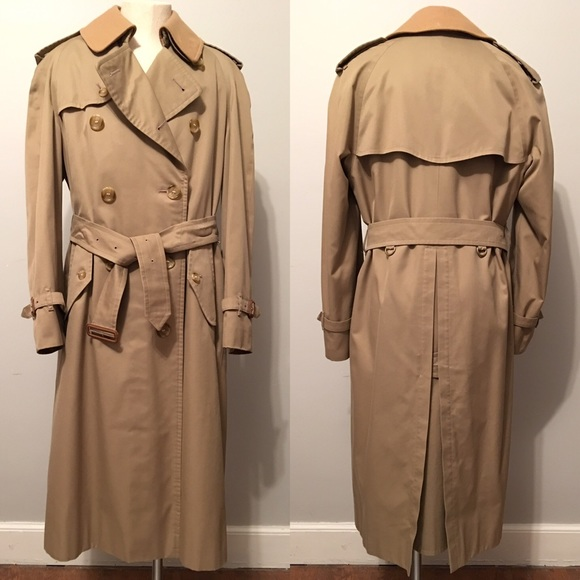 735de3e9d Men's Vintage Burberry Trench Coat 36 Reg