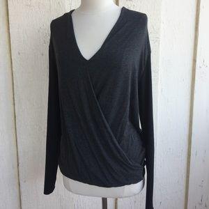 Zara Long Sleeve Drape Top