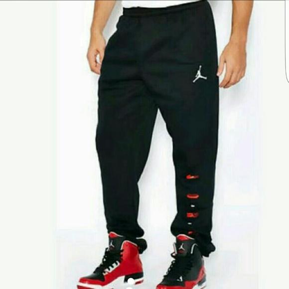 61e8f0438f2 Jordan Pants | Make Offer Graphic Tapered Sweats Sz Xl | Poshmark