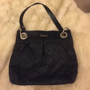 Coach purse very light wear