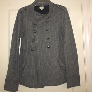 Nordstrom conductor jacket with button detailing.