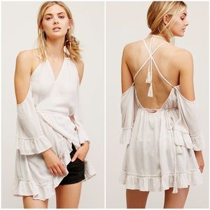 Free People Dresses & Skirts - {free people} ray of sun tunic dress in ivory