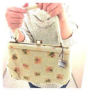 Lumered Handbags - Lumered Corde bead vintage purse NWT!