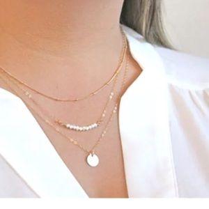 Jewelry - ⚡️SALE⚡️Fashion  layer necklace