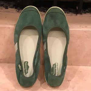 simple  Shoes - Simple ballet flat women's shoe