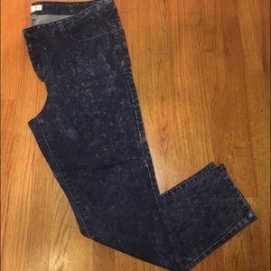 Denim - Acid wash skinny jeans