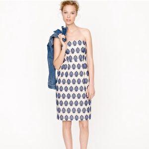 🌟FINAL SALE🌟 J. Crew Filigree-Embroidered Dress