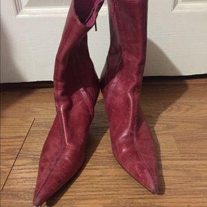 Steve Madden Shoes - Steve Madden Pink leather boots