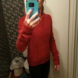Tilt Sweaters - Warm red sweater from Tilt