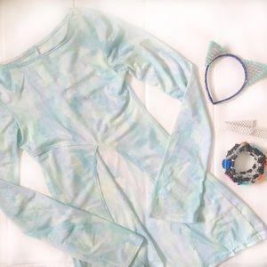 Shop Jeen Dresses & Skirts - Shop Jeen   High Front Slip Rave Dress Flare
