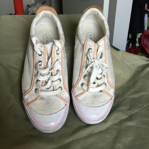 Coach Shoes - AUTHENTIC Logo Coach Tennis Shoes