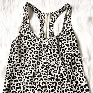 Tops - Forever 21 Leopard Tank- L