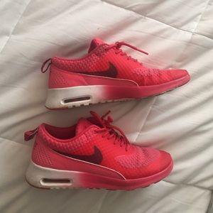 ff186f8ecf26 Nike Shoes - Reddish pink and maroon Nike air max Thea