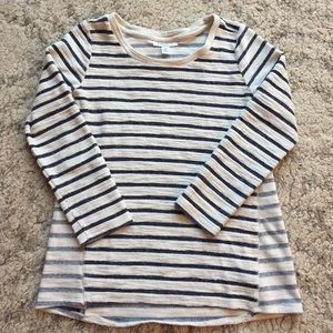Motherhood Maternity striped top Size Medium