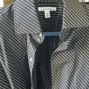 Gently used BR mens shirt M