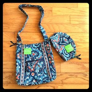 Vera Bradley Marrakesh Hipster & Bag Bundle NWT