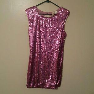 Mia Chica Dresses & Skirts - Pink mini dress...