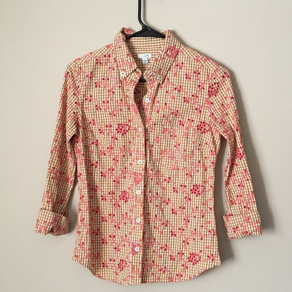 50acb5f6 Anthropologie Tops - Anthropologie Odille eyelet button up