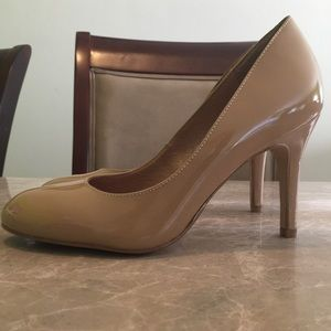 Corso Como Shoes - Corso Como Del Beige Patent LeatherHeelsPumps new