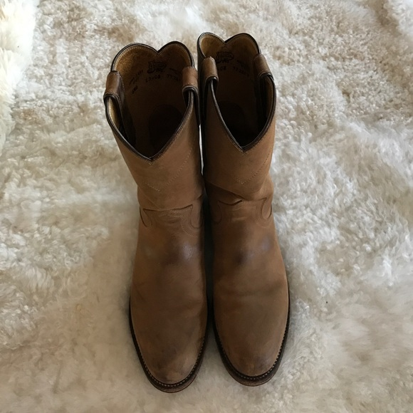 b411ab63c1e5f Justin Boots Shoes | Justin Classic Bay Apache Roper Boots | Poshmark