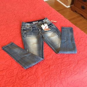 Hot Kiss Denim - Hot kiss high waist skinny jeans.