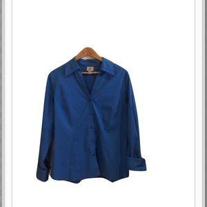 Worthington Tops - Worthington Stretch Button Down Shirt