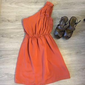 H&M Dresses & Skirts - Rust colored H&M dress 👗