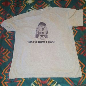 Star Wars Other - STAR WARS R2D2 FUNNY THAT'S HOW I ROLL vintage