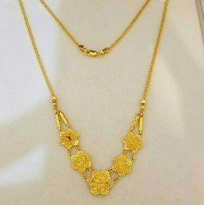 """Jewelry - 18KT GOLD NECKLACE 16"""" - 11 grams"""