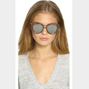Le Specs Accessories - Le Specs Metallic Half Moon Magic Sunglasses