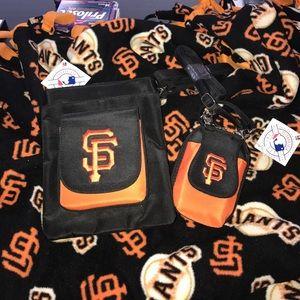 Handbags - New with tags San Francisco giants purses