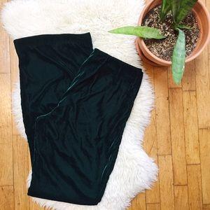 H&M Pants - H&M Green Velvet Pants