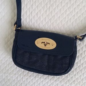 Mulberry Handbags - ✨Host Pick✨ Mulberry Denim Mini Purse